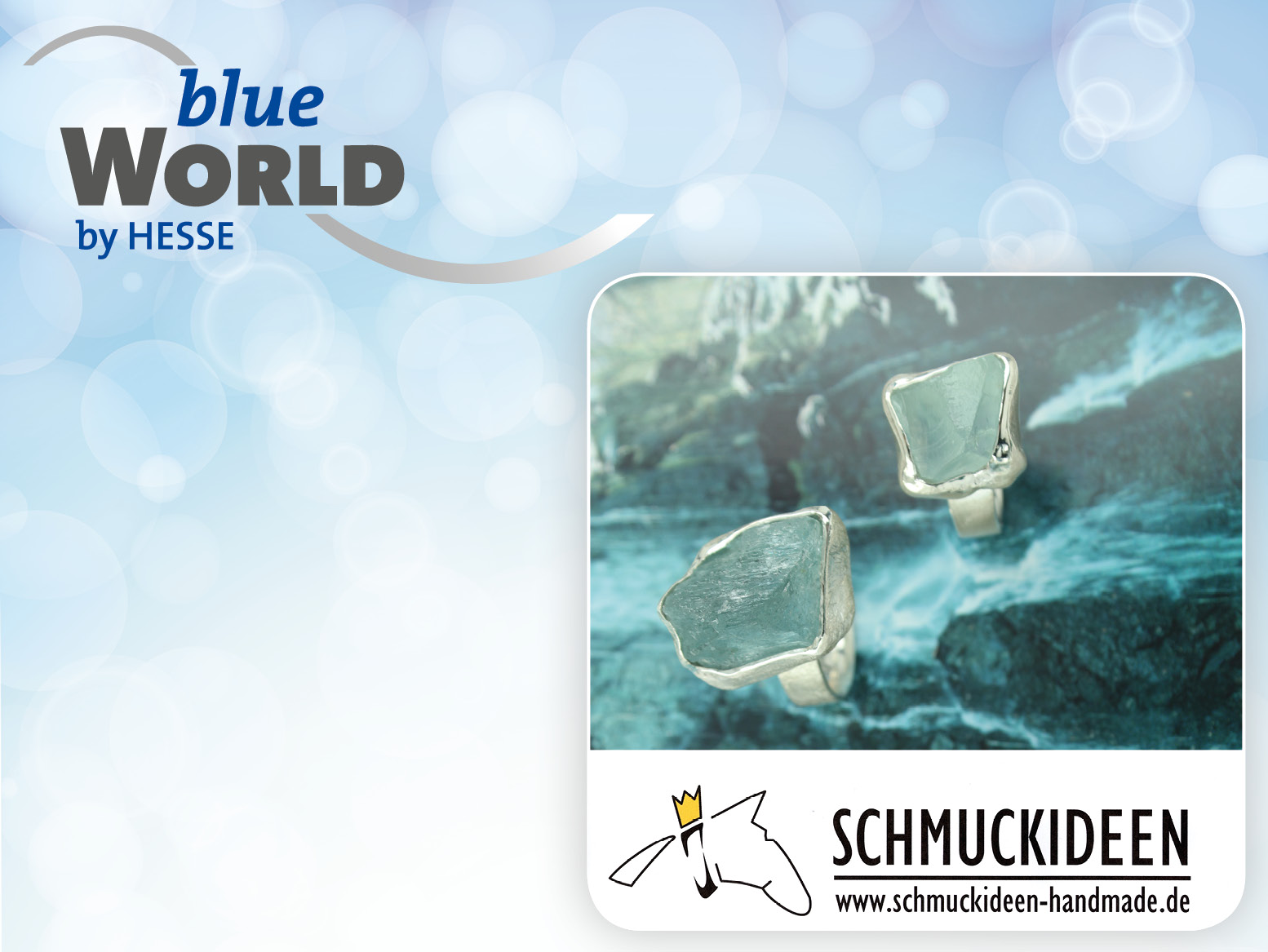 blueWorld Rabatt Schmuckideen