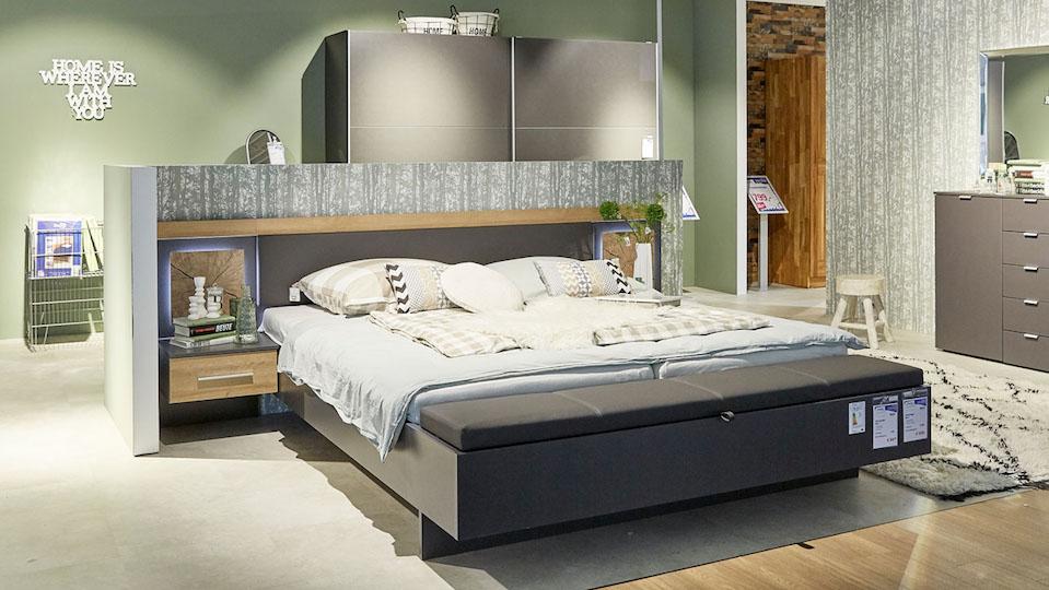 Wandgestaltung mit Farbe - Möbel Hesse
