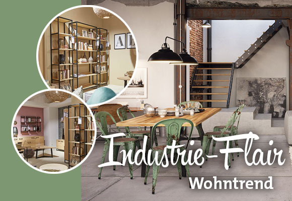 Wohntrend: Industrie-Flair